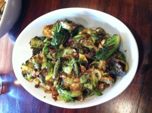 brussel sprouts never tasted so good!
