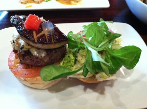 kobe beef slider with foie gras at lola of great neck