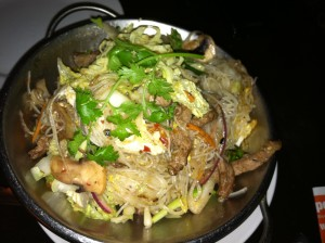 singaporean rice noodles at wild ginger